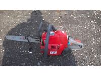 efco petrol chainsaw 136s powerful saw