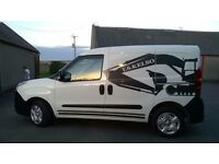 Dec 2013 Vauxhall Combo Van 1248cc CDTi 26500 miles immaculate inside and out