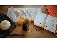 Medela Swing Single Breast Pump with Calma Solitaire Teat