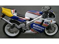 HONDA NSR250SP STOLEN large reward given Reg J128AEO frame # MC21-1073113 eng # MC16E-1283093""