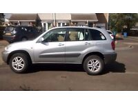 toyota rav4 2003 vvti gx, full service history, 11 months mot, good condition inside and out
