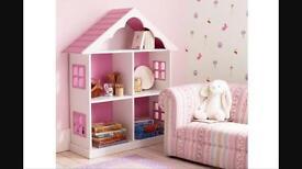 Laura Ashley girls pink bookcase