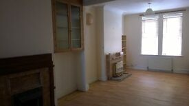 3 bedroomed terraced house - £550 per month.