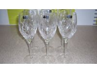 Large Quantity of Expensive Crystal Glassware