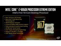 Intel i7 6950x the monsters CPU (2 more left)