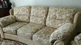 Excellent condition 3 seater sofa and chair