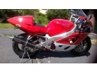 SUZUKI GSXR 750 1998 SRAD TRACK/ROAD BIKE, WITH WHEELS, TRACK PACKAGE, OFFERS