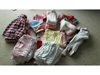 Baby Girl Clothes Selection 9-12 Months Excellent Condition
