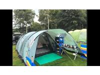 6 Man Tent with extension (canopy)