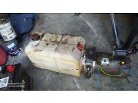 Ford Transit Tipper Hydraulic pump