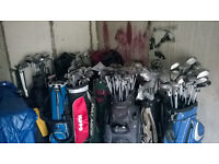 GOLF CLUBS FOR SALE, NEW &USED, FROM £4 A CLUB, IRONS, WOODS, DRIVERS