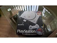 sony playstation 1 in box