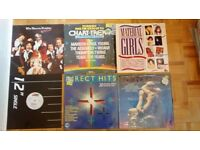 Job lot of assorted vinyl records - mostly 80s - some hidden gems!