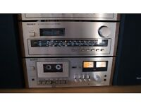 Sony TC-186SD Tapecorder Vintage Cassette Deck