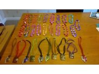 JOBLOT 28 NICE CHILDRENS NECKLACES NEVER WORN