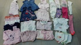 Girls Baby Clothes 0-3 Months. 35 Items (Lot 2 of 2)