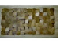 NEW 3D diffuser Quality OAK Natural wood panel home decoration studio saloon