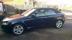 AUDI A3 2 DOOR CONVERTABLE TFSI AUTOMATIC TOP OF THE RANGE 1800cc 2010 MODEL