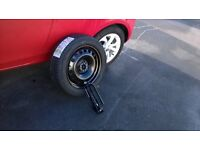 spare wheel for vauxhall corsa sting