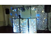 Full Disco setup for sale. All new equipment, used a max of twice. boxed with instructions .£1350