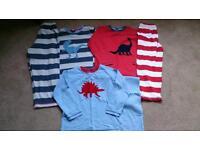 Next 3 pack of dinosaur pyjamas age 4-5