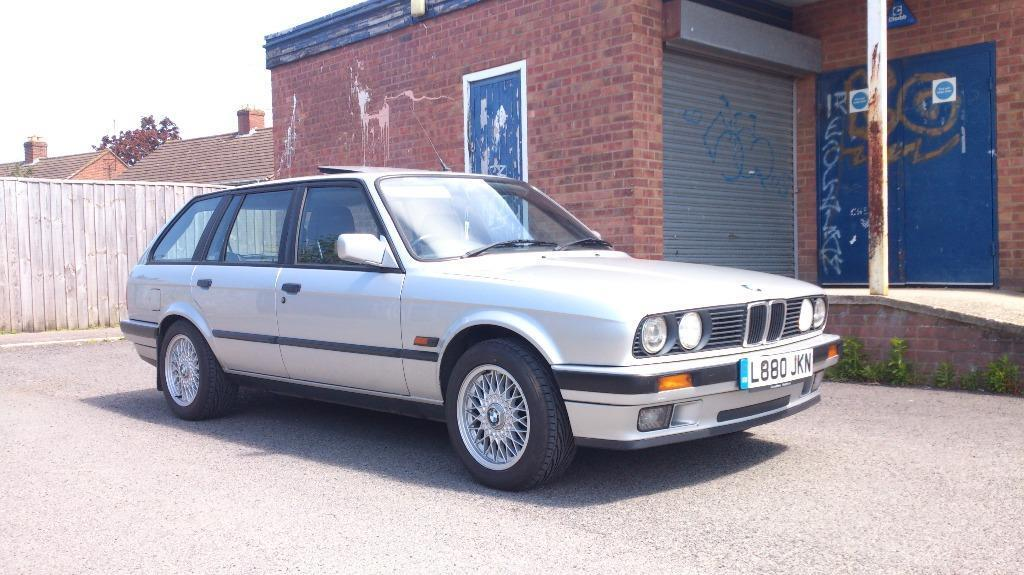 1993 bmw 318i lux e30 touring sterling silver for sale in bristol classic retro in. Black Bedroom Furniture Sets. Home Design Ideas