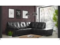 Black Corner sofa for sale