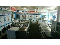 Cheap Recondioned & New Appliances Washers Dryers Cookers