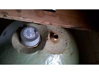 like new indirect hot water cylinder