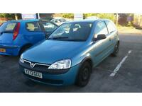 VAUXHALL CORSA C 1.7 DIESEL BREAKING FOR SPARES ALL PARTS AVAILABLE