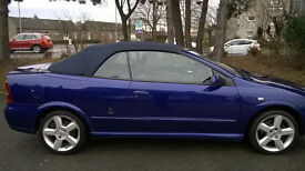 05 astra convertable exclusive low miles 1 former keeper fsh