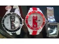 2 ice watches and 1 next watch