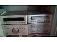 Technics hifi separates st-hd310 with CD and cassette player