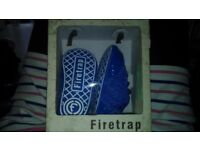 firetrap baby brand new shoes in box