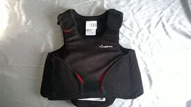 childs horse riding body armour age 12-14