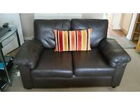 Good deal 2 Italian two seater and leather chair