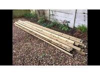 New Fence rails for sale