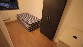 Single Room, 2 Min Walk To Station, Free Cleaning Service,Council Tax, All Bills & BT Wifi Included