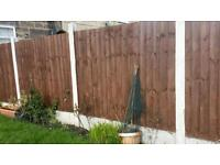 Fencing and gravel boards