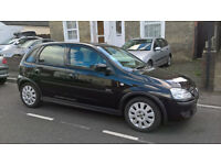 2005 VAUXHALL CORSA 4 DOOR SXI,ONLY 59,000 MILES FROM NEW.