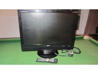 "LG Flatron 22"" LCD Monitor / TV"