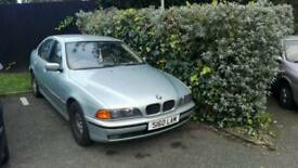 BMW 5 series 523i for spares or repair