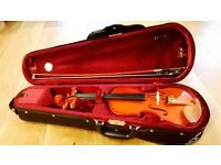 Stentor Student II Violin 3/4 Size with Bow & Case