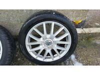 Alloy wheels for VW