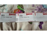 Rocky horror show tickets x 2 Bristol hippodrome