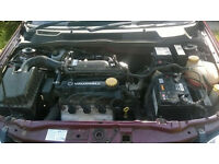free vauxhall astra 1.6 8v engine parts