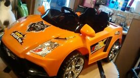12 volt X Racer sport electric ride on (new)