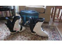 Salomon SX62 men's ski boots, for shoe size 9