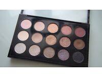 genuine MAC 15 cool neutral eyeshadows palette bargain!