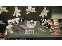 Acrylic and UV Gel Nail set £50ono